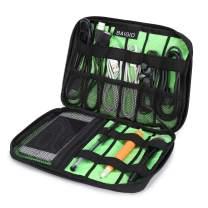 BAIGIO Black Cable Organizer Electronics Accessories Travel Bag USB Drive Bag Healthcare & Grooming Kit