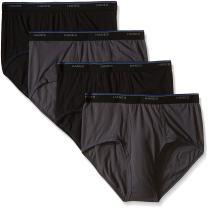 Hanes Men's 4-Pack Comfort Blend Dyed Brief