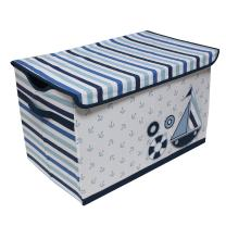 "Bacati - Storage Tote (Toy Chest 14.5""L x 24""W x 15""H, Little Sailor)"