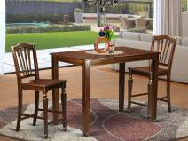 3 Pc counter height Dining room set - counter height Table and 2 bar stools.