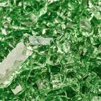 Pine Mountain - Fire Glass for Indoor and Outdoor Fire Pits or Fireplaces | 10 Pounds | 1/4 Inch