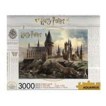 AQUARIUS Harry Potter Puzzle Hogwarts Castle (3000 Piece Jigsaw Puzzle) - Officially Licensed Harry Potter Merchandise & Collectibles - Glare Free - Precision Fit - Virtually No Puzzle Dust - 32x45in