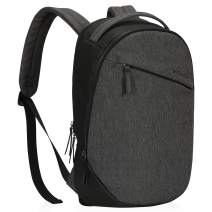 Hynes Eagle Casual Daypack Multipurpose Backpack for Men Women Black and Grey