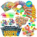 THE TWIDDLERS 120 Pcs Party Toy Assortment Bundle   Birthday Party Favor Toys   Pinata Fillers   Goody Bag Fillers   Bulk Game Prizes & Rewards   Indoor Activity Hours Play Entertainment for Kids