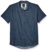 Quiksilver Men's Minimo Regular Short Sleeve Woven