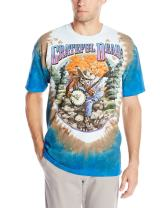 Liquid Blue Men's Grateful Dead Banjo T-Shirt