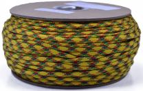 Bored Paracord - 1', 10', 25', 50', 100' Hanks & 250', 1000' Spools of Parachute 550 Cord Type III 7 Strand Paracord Well Over 300 Colors - Vietnam Veteran - 250 Foot Spool