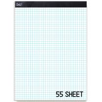 """Mr. Pen- Graph Paper, Grid Paper, 4x4 (4 Squares per inch), 11""""x8.5"""", 55 Sheet Papers, Drafting Paper, Squared Paper, Blueprint Paper, Architectural Paper, Computation Pad, Quadrille Writing Paper"""