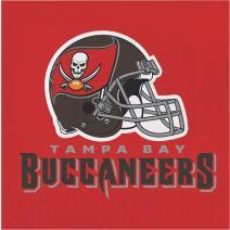 Tampa Bay Buccaneers Napkins, 48 ct