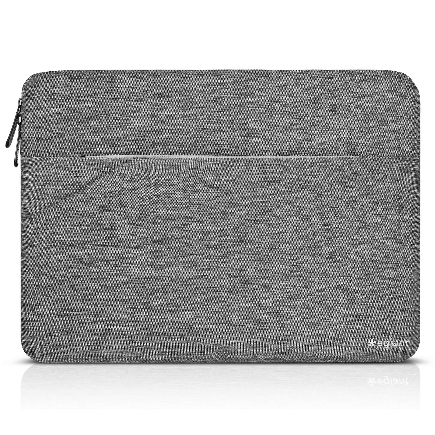 Egiant Laptop Sleeve 11.6 Inch,Protective Case Bag Compatible Mac Air 11, MacBook 12, iPad Tablet,Surface Pro 4 5 6, Stream 11,11.6 Inch Chromebook R11, Water-resistant Notebook Cover-Slim Design,Gray