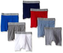 Hanes Toddler Boys Dyed Boxer Briefs, Assorted, 7-Pack