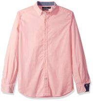 Nautica Classic Fit Long Sleeve Solid Oxford Shirt