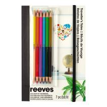 Reeves Colored Pencils by Numbers Book, Traveller's Tales