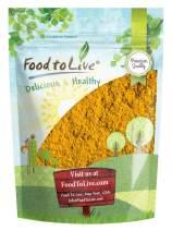 Turmeric Powder, 2 Pounds - Ground Turmeric Root, Kosher, Raw, Vegan
