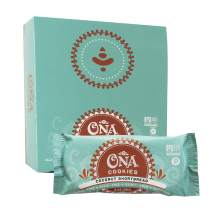 Coconut Shortbread Cookies by Ona, Paleo, SCD Approved, Gluten Free, Dairy Free, Honey Sweetened Healthy Treats (12 Pack)