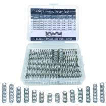 "Compression Springs NEWST Spring Assortment Kit | 7 Different Sizes 28 Piece Stainless Steel Spring Assortment with Case | 20~50mm(0.79"" to 1.97"") Length,10mm(0.39"") OD,1.5mm(0.06"") Wire Dia."