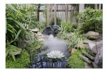 Zen Garden with a Calm Stream & Lotus Flower 9020544 (Premium 1000 Piece Jigsaw Puzzle for Adults, 20x30, Made in USA!)