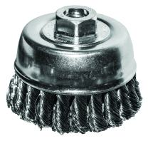 """Century Drill & Tool 76046 Knotted Angle Grinder Wire Cup Brush, 4"""""""