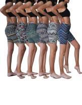 Sexy Basics Women's Active Dance Running Yoga Bike -Cotton Slip Shorts/Boy Short Boxer Briefs