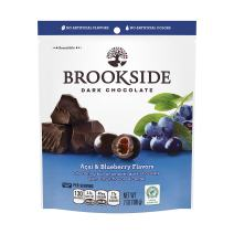 Brookside Dark Chocolate Candy, Acai and Blueberry Flavors, 7 Ounce (Pack of 4)