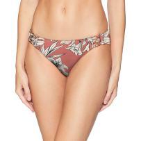 Roxy Women's Printed Softly Love Full Bikini Swimsuit Bottom