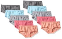 Fruit of the Loom Women's 10pk Boyshort