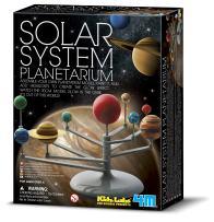 4M 3427 Solar System Planetarium - DIY Glow In The Dark Astronomy Planet Model Stem Toys Gift for Kids & Teens, Girls & Boys