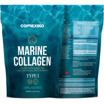 Premium Marine Collagen Peptides - from Wild Caught Fish Skin (Not from Scales) Hydrolyzed Protein Powder for Joints, Skin, Hair, Nails & Digestive Health - Made in Canada, Unflavored