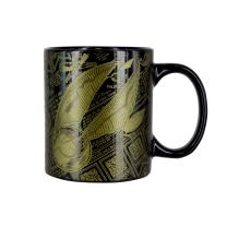 Paladone Harry Potter Officially Licensed Merchandise - Golden Snitch Ceramic Coffee Mug