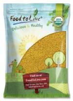 Organic Fenugreek Seeds, 15 Pounds — Non-GMO, Raw, Whole Methi, Kosher, Vegan, Bulk, Rich in Iron, Copper and Fiber