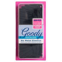 Goody Ouchless Braided Elastics 200ct Value Pack With Storage