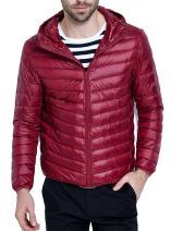 ZITY Lightweight Packable Down Jacket for Men Outwear Puffer Down Coats