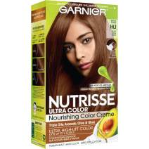 Garnier Nutrisse Ultra Color Nourishing Permanent Hair Color Cream, HL1 Rich Toffee (1 Kit) Brown Hair Dye (Packaging May Vary), 1 Count