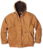 Key Industries Men's Premium Insulated Fleece Lined Hooded Jacket