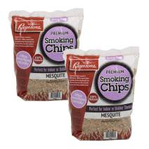 Camerons Products Smoking Chips - (Mesquite) Kiln Dried, Natural Extra Fine Wood Smoker Sawdust Shavings - 4 Pound Bag Barbecue Chips