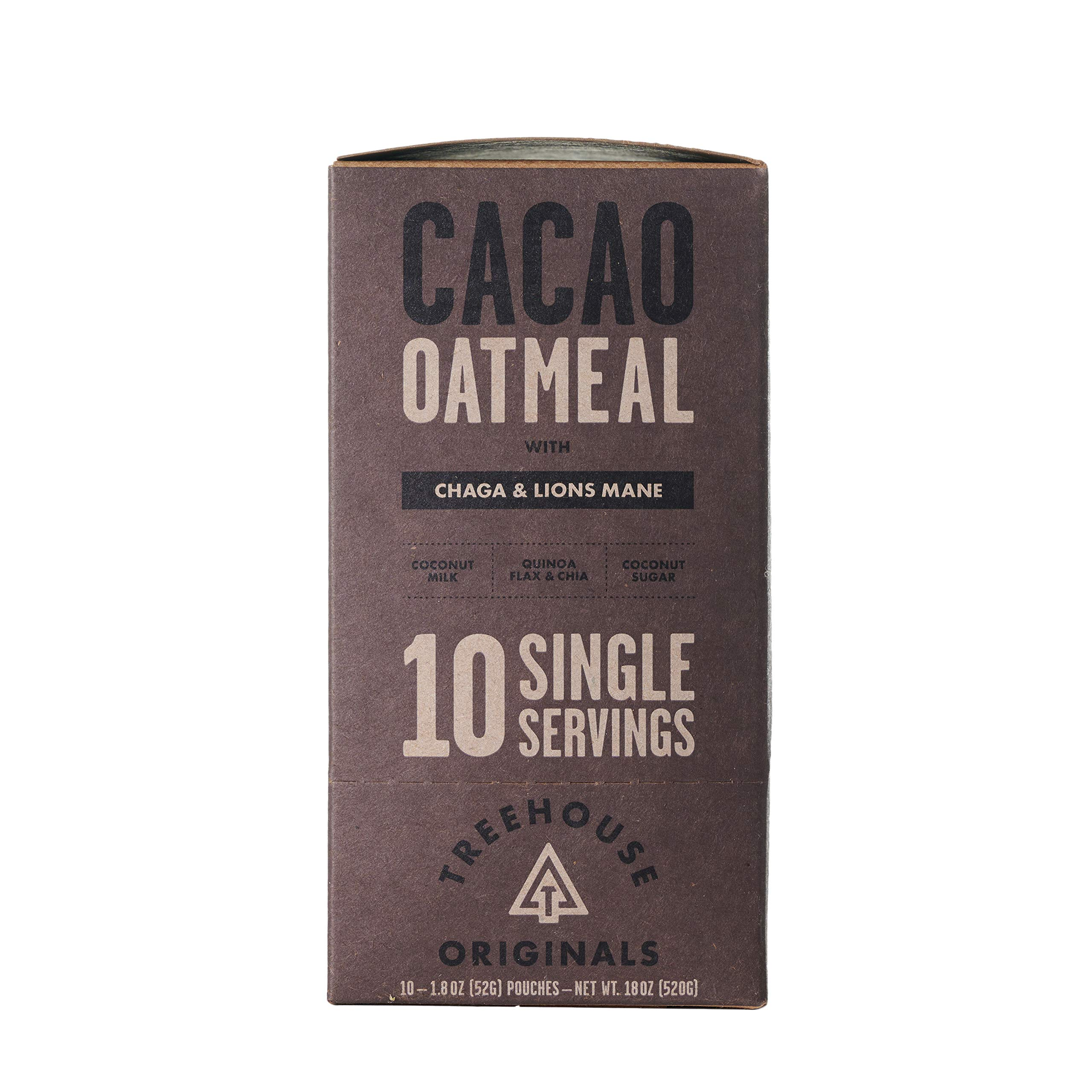 Treehouse Originals Oatmeal (Cacao, 10 Pack)