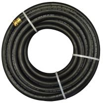"JGB Enterprises Eagle Hose CWH Contractors Water SBR Hose Assembly, Black, 3/4"" Male GHT x Female GHT, 150 PSI Max Pressure, 3/4"" Hose ID, 50' Length"