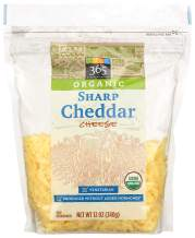 365 Everyday Value, Organic Sharp Cheddar Cheese, Shredded, 12 oz