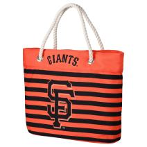 FOCO MLB Unisex-Adult Nautical Stripe Tote Bag