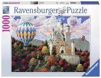 Ravensburger 19857 Neuschwanstein Daydream Jigsaw Puzzle (1000 Piece)