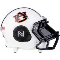 NCAA Officially Licensed, Auburn Tigers Small Portable Bluetooth Speaker Helmet, 5-Inch, 12 watts, 12-Hour Battery Life with Sub-Woofer and 360-Degree HD Audio