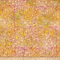 FreeSpirit Fabrics Kaffe Fassett Artisan Batik Bombay Mix Fabric, Magenta, Fabric By The Yard