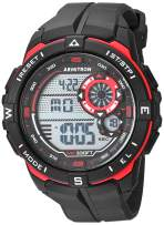 Armitron Sport Men's Digital Chronograph Resin Strap Watch