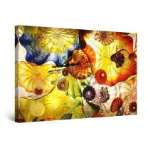 Startonight Wall Art Canvas Feeling Hypnotic Abstract, Abstract Framed 24 x 36 Inches