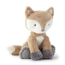 Levtex Baby - Bailey Stuffed Toy - Fox - Charcoal, Taupe, White - Nursery Accessories - Size: