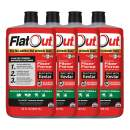 FlatOut 99907 Tire Additive (Outdoor Power Equipment Formula), for Lawn Mowers, Small Tractors, Wheelbarrows, Woodchippers, Snow Blowers and More, 128. Fluid_Ounces, 4 Pack