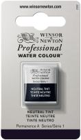 Winsor & Newton Professional Water Colour Paint, Half Pan, Neutral Tint