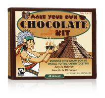 GLee Gum Organic DIY Chocolate Kit from All Natural Fair Trade Cocoa, 20 Pieces, 1 Pack