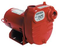 Red Lion RL-S50 ½ HP 2940 GPH Self Priming Cast Iron Effluent Pump, 1 ¼-Inch NPT Suction and Discharge