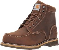 "Carhartt Men's 6"" Lug Bottom Moc Soft Toe CMW6197 Industrial Boot"